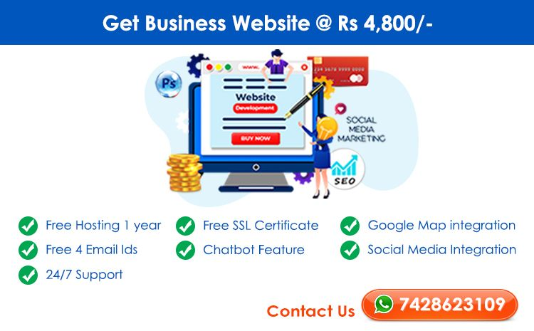 Business Website @ Rs4800 - FutureGenApps