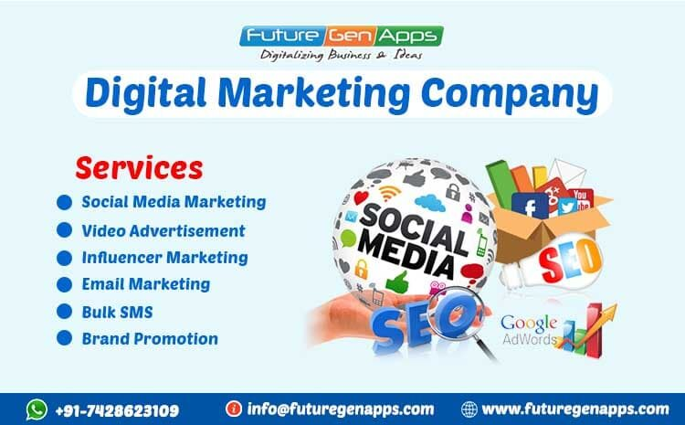 Digital Marketing Company in Delhi NCR- FuturegenApps
