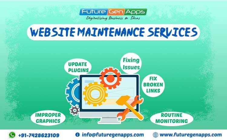 Website Maintenance Services in Delhi India - FutureGenApps